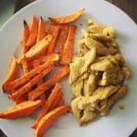 Rezept Süßkartoffelfritten