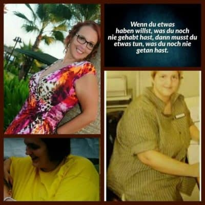 Tanja Gewicht reduziert