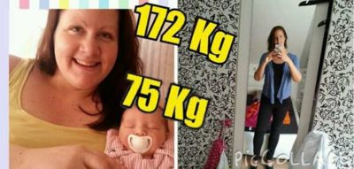 Kristina 100 Kilo erfolgreich abgenommen