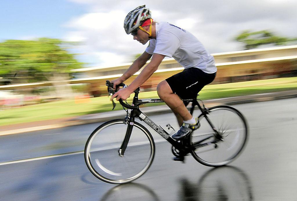 Fahrrad fahren: Cardio Training