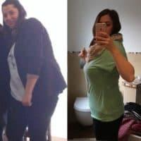 Julia viel Gewicht verloren