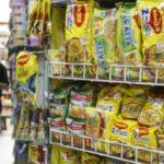 Fertigprodukte im Supermarktregal