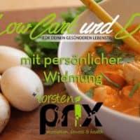 Kochbuch Low Carb - mit persönlicher Widmung