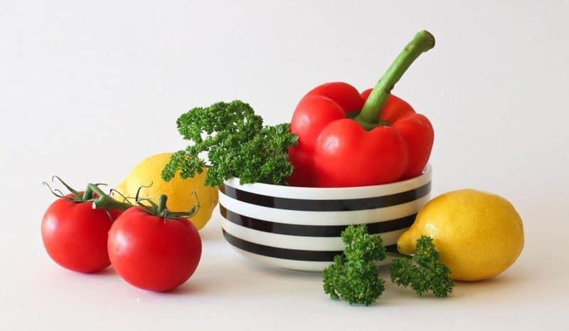 Gemüse essen für Körperfett reduzieren