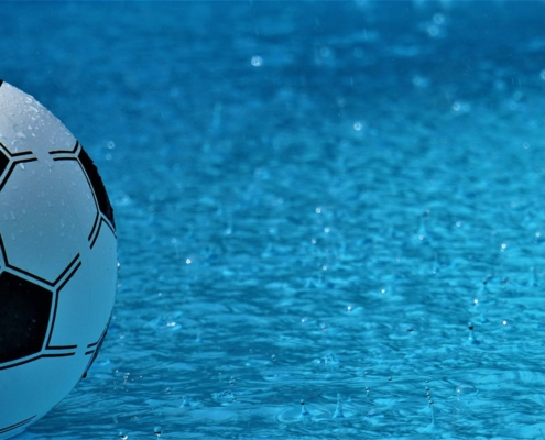 Wasserball zum Abnehmen